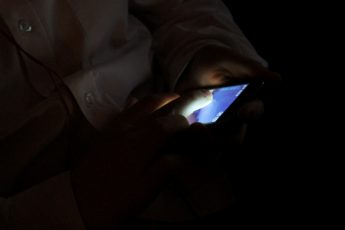 Ipod Touch in the dark