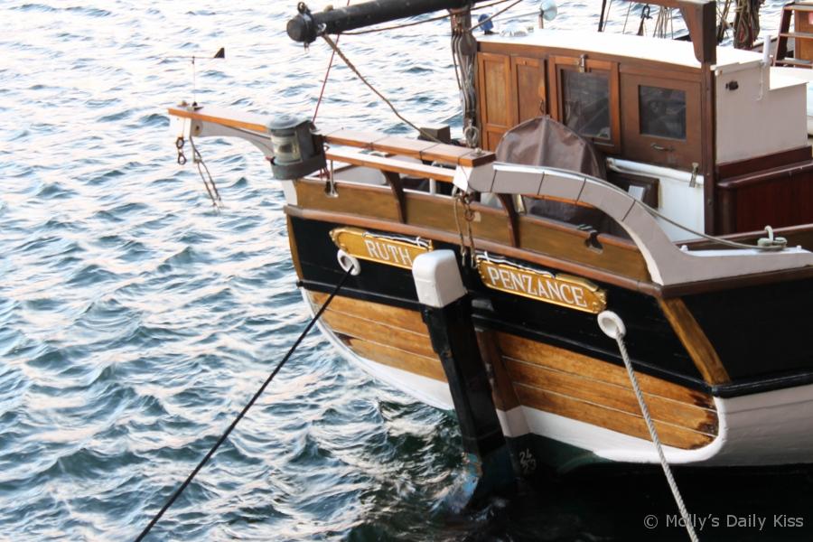 A boat named Ruth