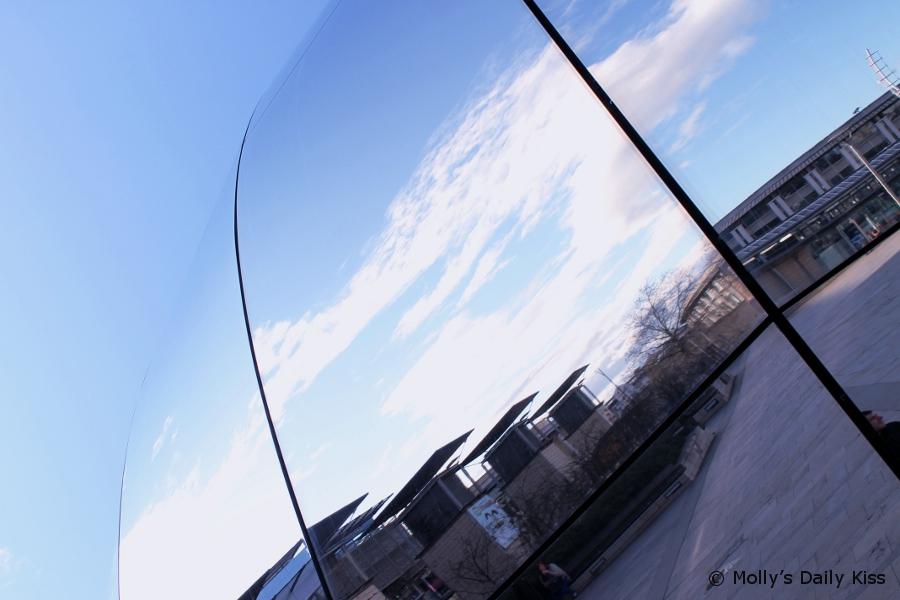 The Planetarium Bristol and blue sky