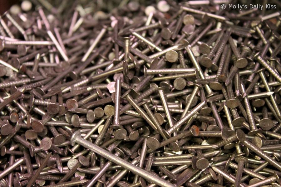 Macro shot od nails