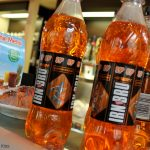 orange bottles of Irn Bru