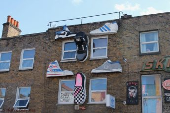 Shoes shop Camden Lock London