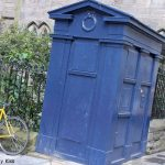 Police box In edinburgh Tardis