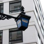 Police Sign in London