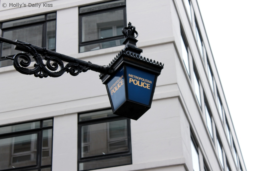 Police Sign in London