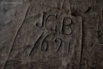Graffiti from 1621 Bodiam Castle