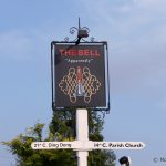 The Bell Inn Ticehurst with blue sky