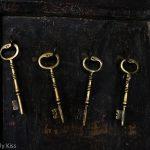 old keys on the wall at The Bell Inn Ticehurst