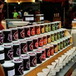 Row of jams at Borought Market