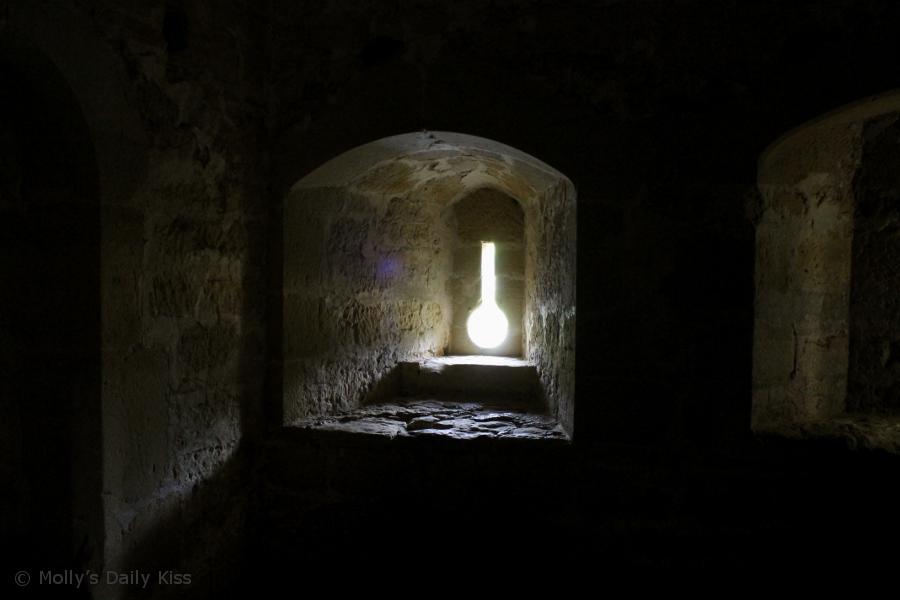 Bodiam Castle Keyhole Window