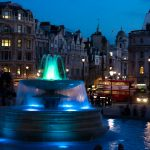 Fountains in Trafalgur Square