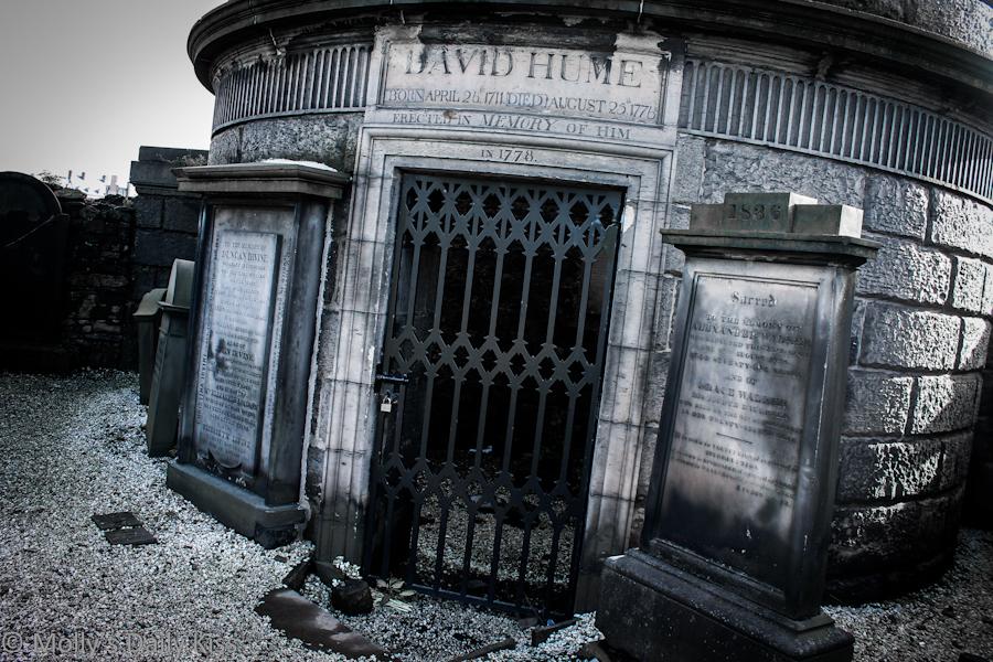 David Hume Carlton Cemetary Edinburgh