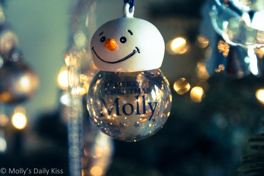 Molly Christmas decoration