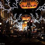 Christmas Lights in Regent Street London December 2012