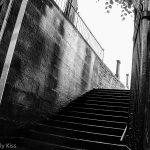 Steps into cemetary in Edinburgh
