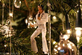 Christmas Elvis Decoration
