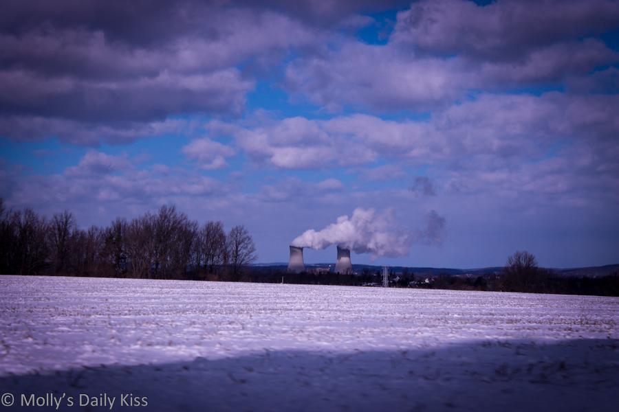 Cloud Factory Nuclear Power station Philadelphia