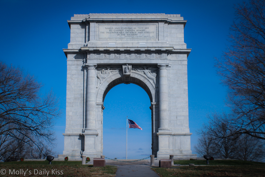Memorial Gate Valley Forge