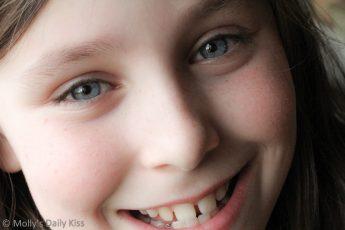 Smiling face macro