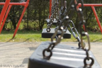 Empty Swings in the park
