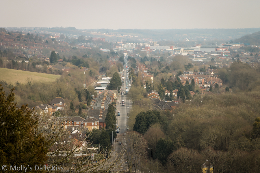 View from Wycome Hill