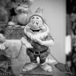 Happy smiling gnome