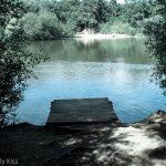 Blue water fishing pond Welwyn Garden