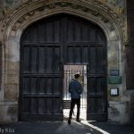 Gateway into college Cambridge