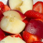 Strawberry and nectarines