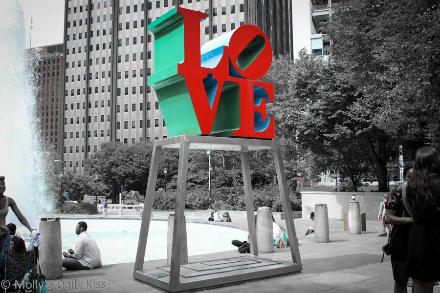 Love Statue Philadelphia