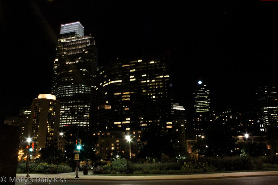 Philadelphia by night