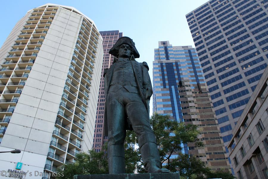 Polish General Statue Benjamin Franklin Parkway Philadelphia