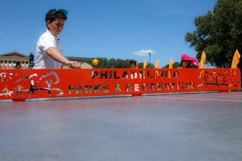 Outdoor table tennis philadelphia