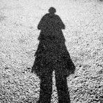 Shadow self portrait