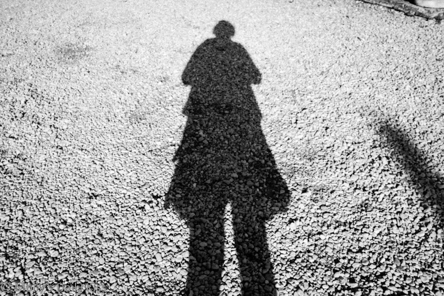 Shadow self portrait