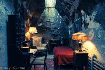 Al Capone cell in eastern State pen