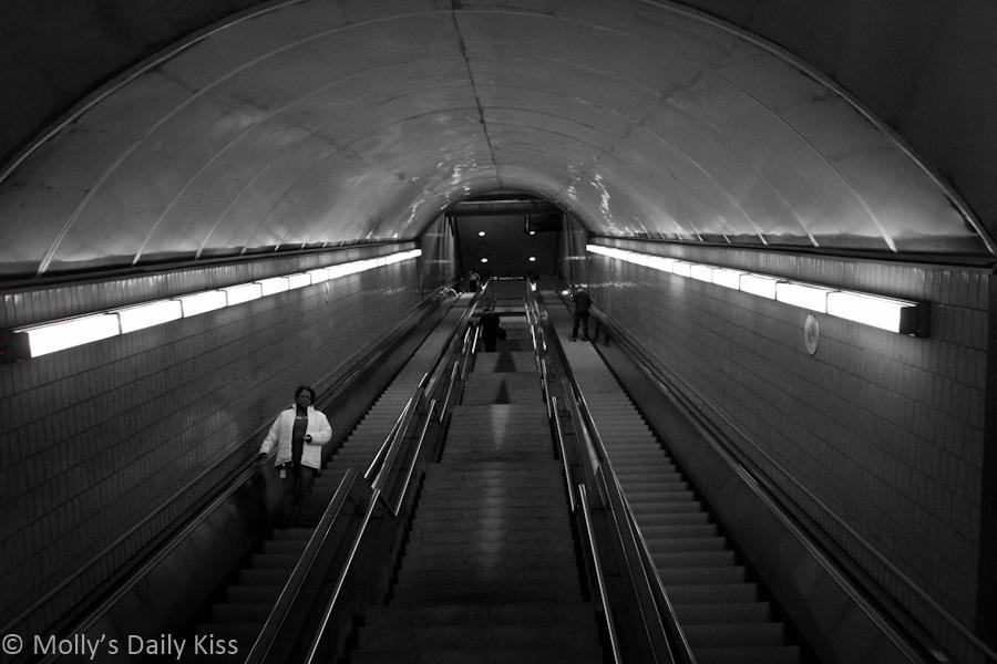 Subway stairs Atlanta