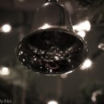 Reflection in a silver bell