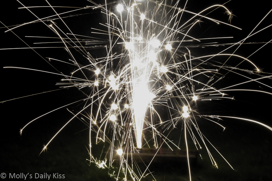 Firewords on New years Eve