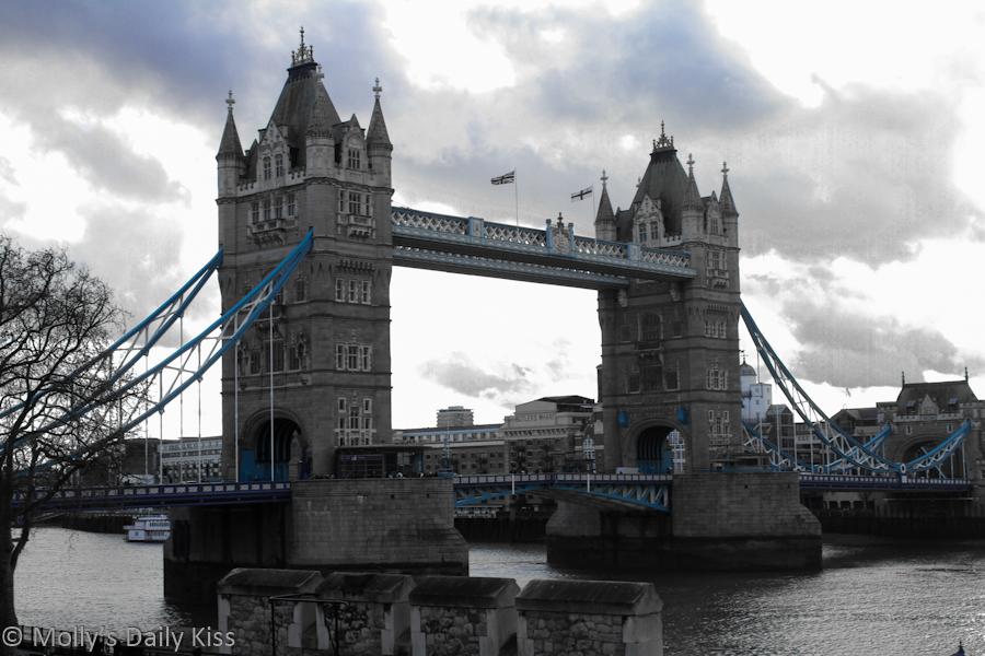 Tower Bridge in Winter