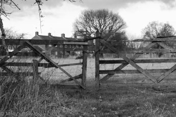 Gate with chain