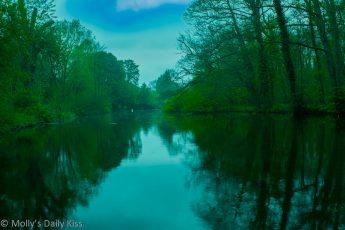 Digswell Lake reflection