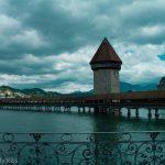 Kapellbrücke covered wooden footbridge