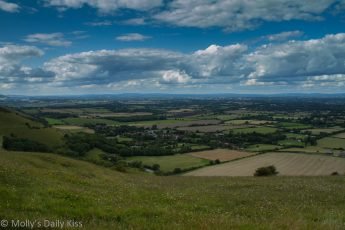 View from Devil's dyke east Susses