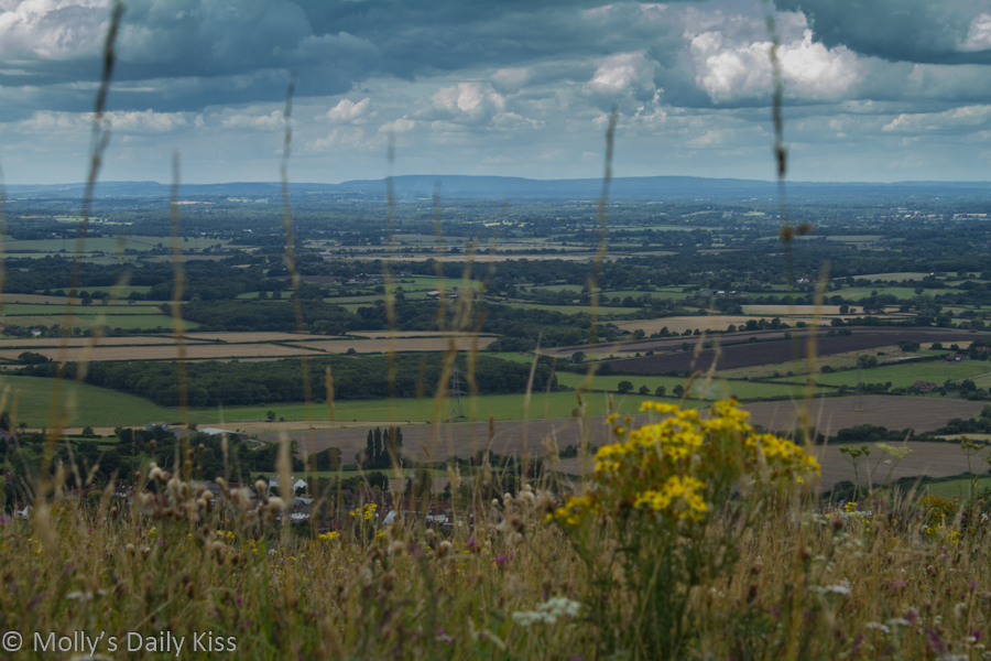 View from Devils Dyke over the South Downs