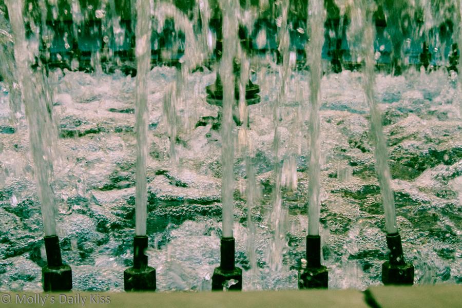 Fountain macro shots