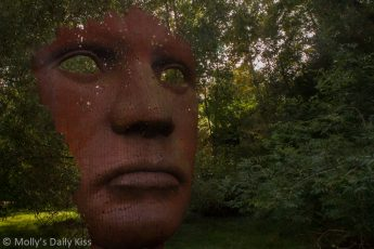 face Sculpture Burghley House
