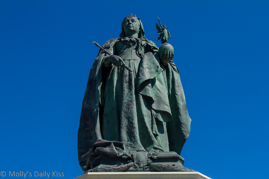 Queen Victoria Statue in Brighton