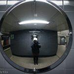 Self portrait on London Underground