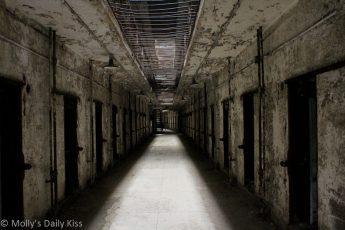 Underground Cell Block Eastern State Pen, Philadelphia